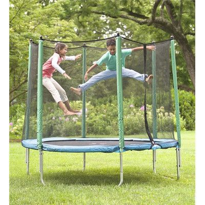 HearthSong 8' Enclosed Trampoline