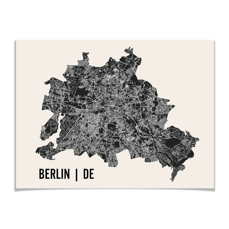 138 best art maps images on pinterest antique maps old cards and berlin map print black and white ominous and cool gumiabroncs Images