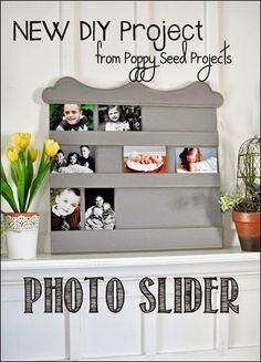 DIY Super Saturday Idea - Photo Slider