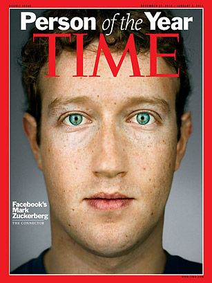 People who have changed our lives:  Mark Zuckerberg: Facebook