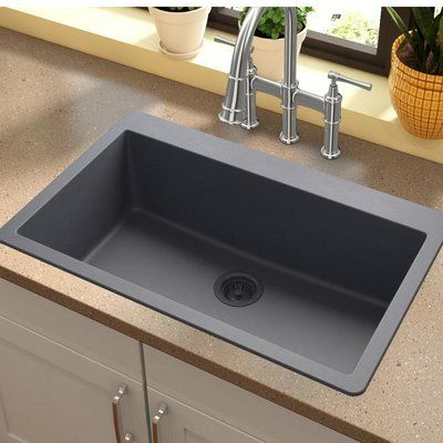 Best Elkay Quartz Classic 33 X 21 Top Mount Kitchen Sink 640 x 480
