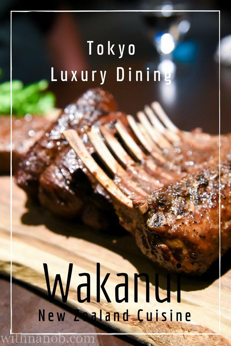 New Zealand Cuisine at Wakanui Tokyo on www.travelwithnanob.com | #Tokyo #Restaurants