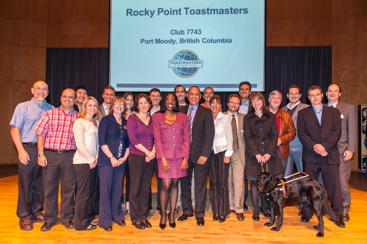 Rocky Point Toastmasters with Ed Tate