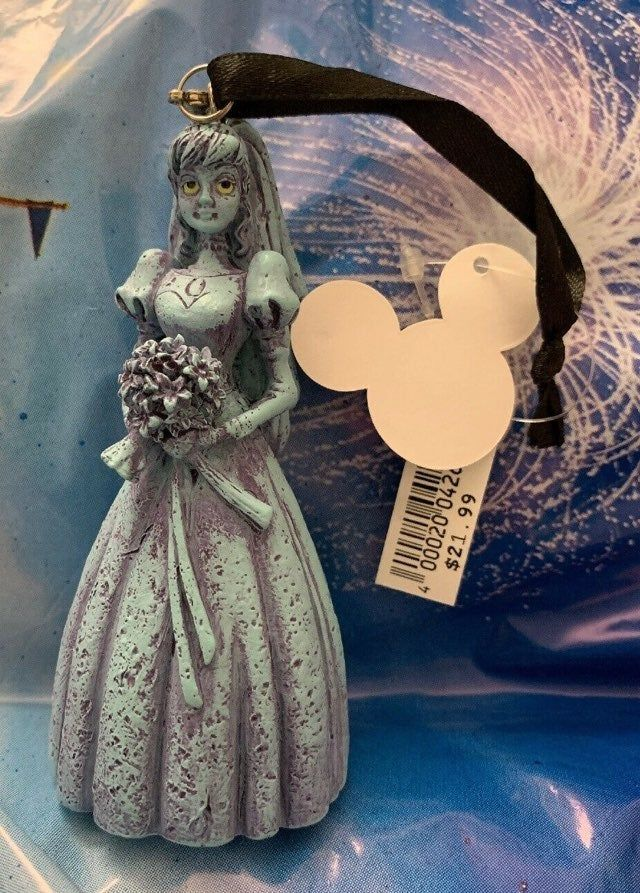 Disney Park Haunted Mansion Ornament Light-Up Madame Leota Collectible