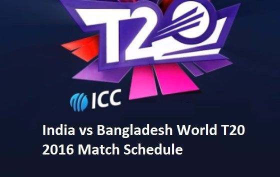 5th match will play today at M.Chinnaswamy Stadium in Bengaluru. India vs Bangladesh World T20 2016 Match Schedule discuss here.