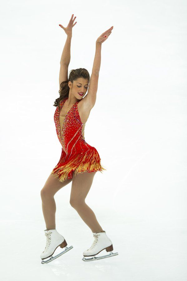 Samantha Cessario, USA.  Short Program 2013-2014 Fever by Unknown
