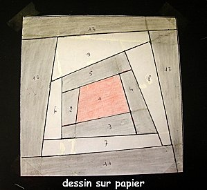 Couture sur papier: Mond Du, First Step, The Drawing, Pas Dan, Paper, Stitching On, Logs Cabins, The World, And Le