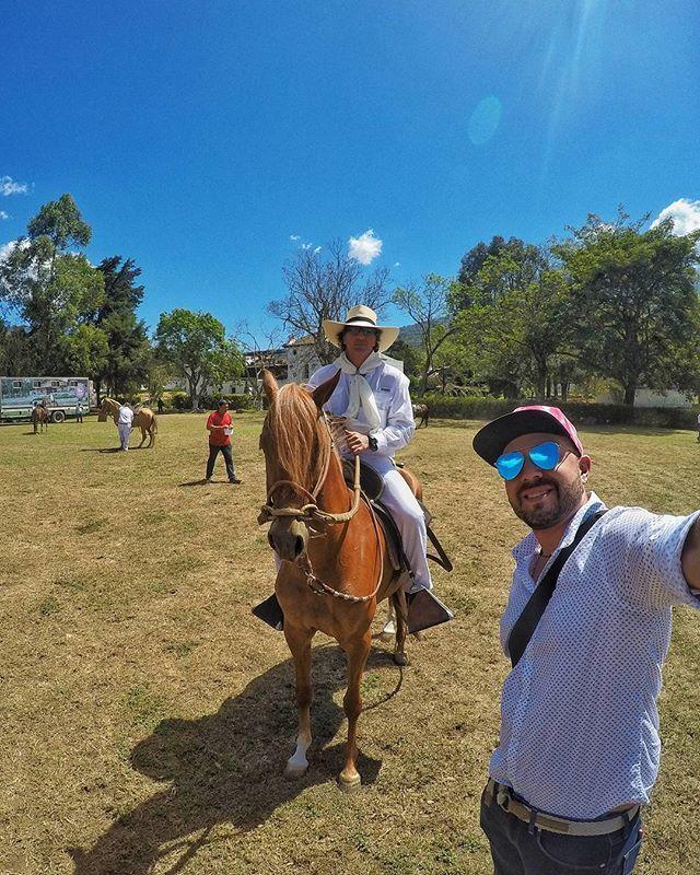 Concurso centroamericano de caballos Peruanos en Antigua Guatemala