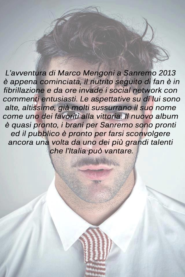 (da http://www.melodicamente.com/marco-mengoni-a-sanremo-2013-torna-festival-rivincita/)
