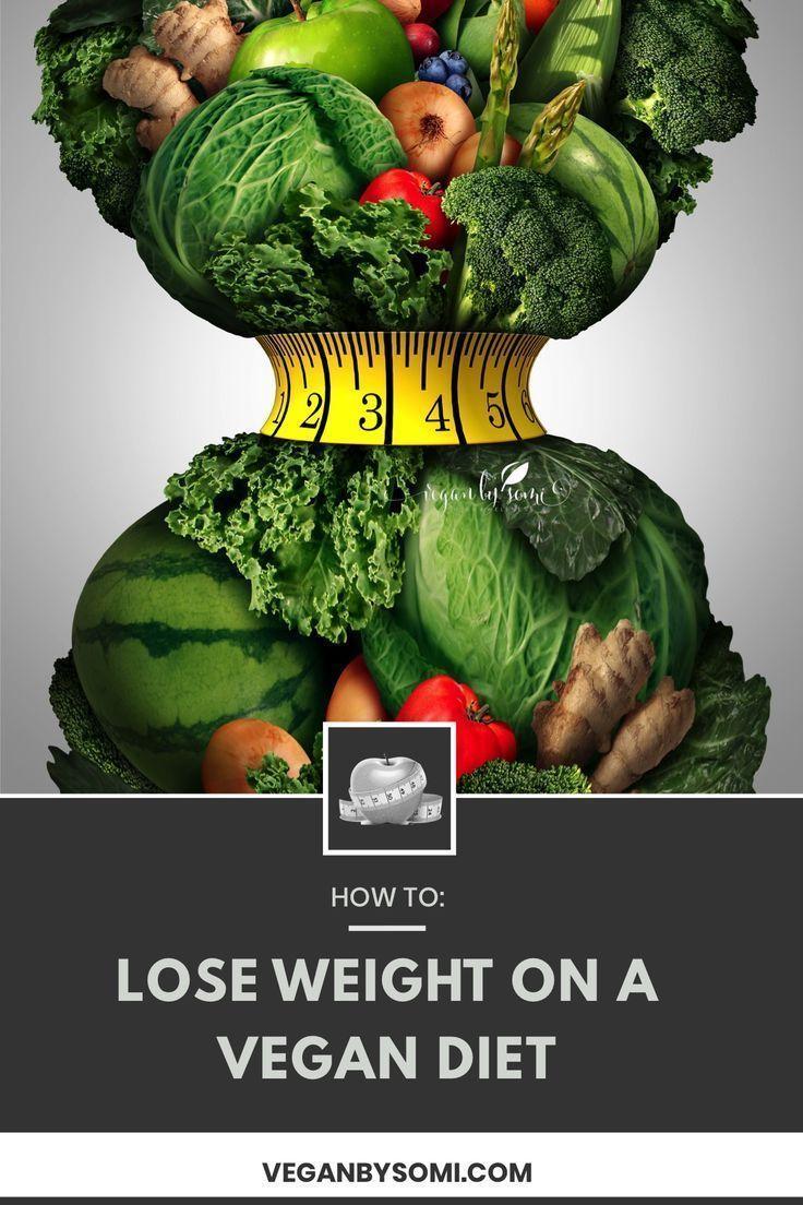 Wie man vegan Gewicht verliert