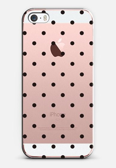 Black dot dot by imushstore iPhone SE case by imushstore by yingHo | Casetify