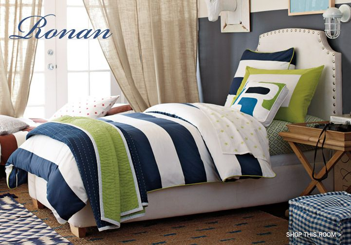 Boys Bedding & Bedding Sets | Kids Bedding for Boys by Serena & Lily