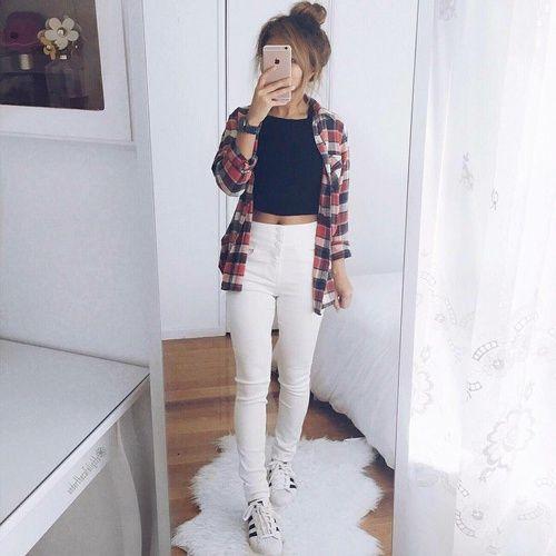 Las 25 mejores ideas sobre Outfits Para La Universidad en Pinterest y mu00e1s | Polyvore informal ...