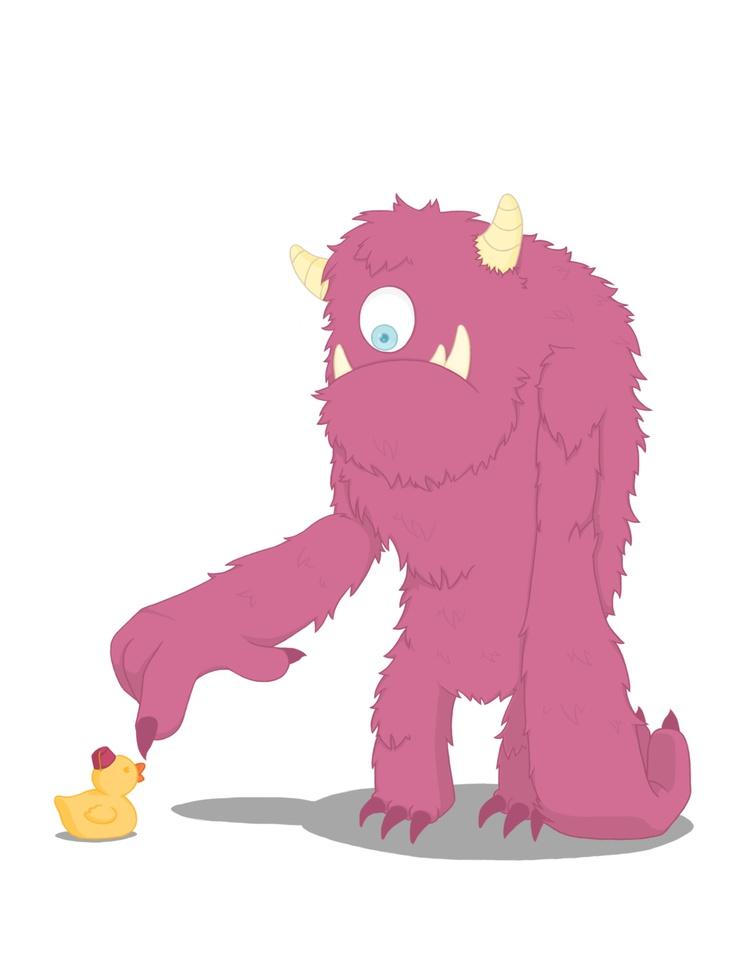 Monster meets Mr Rubberduck by Menteymenta.deviantart.com on ...