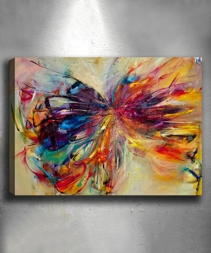 Take a look at this Holotropic Butterfly Wrapped Canvas today!