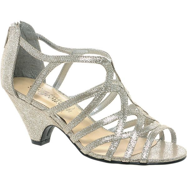 New Look Sun Low Silver Wedge Sandals ($22) ❤ liked on Polyvore featuring shoes, sandals, silver, wedge shoes, metallic strappy sandals, wedge sandals, silver shoes and strappy sandals