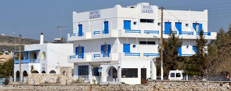 Alkyon Hotel in Paros un hôtel les pieds dans l'eau
