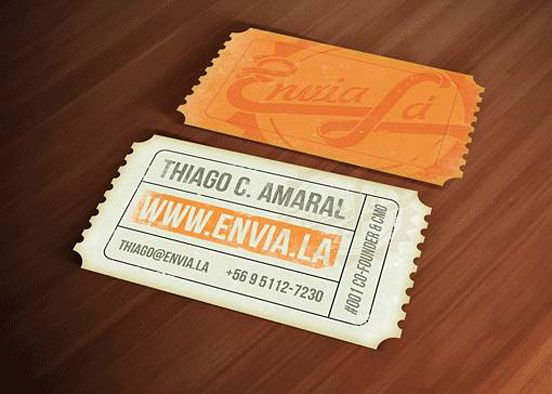 29 best stationery images on pinterest business cards carte de this card takes shape as a vintage ticket really cool and inventive not boring at all reheart Images