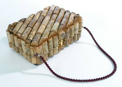 cork purse (I might have to make this for a certain purse collector)