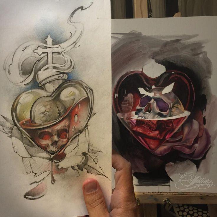 Skull idea  neo traditional