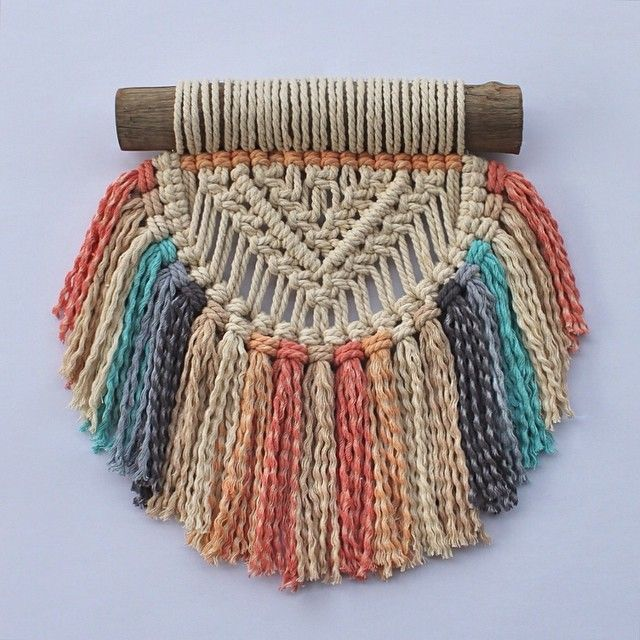 Same same but different. Another mini bask wall hanging in custom colours