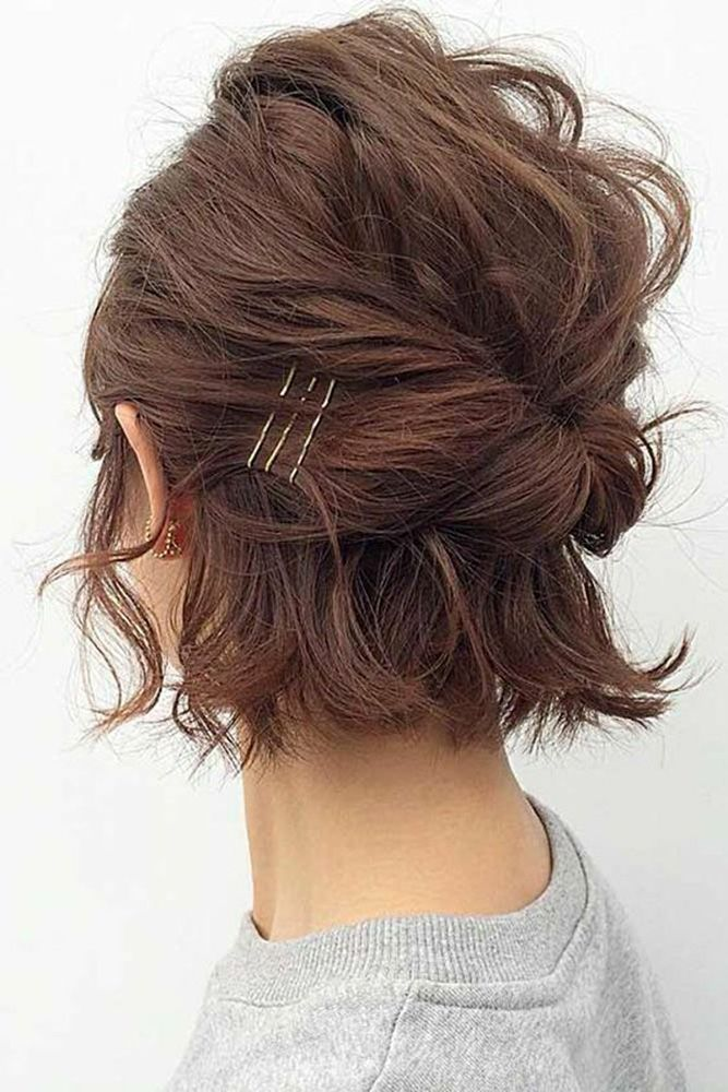 39 Best Pinterest Wedding Hairstyles Ideas Wedding Forward Short Hair Styles Easy Short Hair Styles Easy Updo Hairstyles