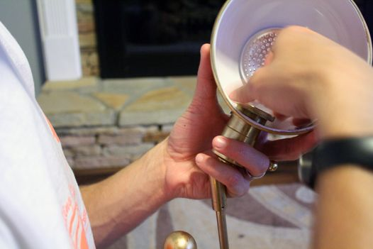 How to make any lamp cordless. Disassemble a lamp to make it battery-powered