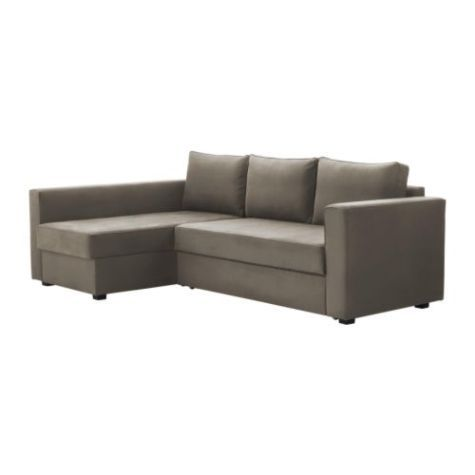 Ikea Manstad Corner Sofa Bed With Storage Chaise Can Move And There S E In The End Section For Back Room One Day