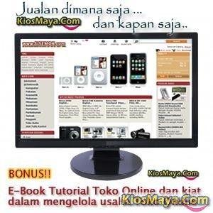 Jasa Pembuatan Website Toko Online. Segment Pasar 45 juta Pelanggan Internet di Indonesia - Kiosmaya Dot Com
