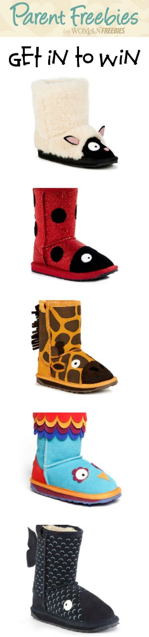 Want to Fall in Love? #RePin and Enter Our New #Contest to #Win #EMU Australia Little Creatures #Boots! #kids #sweeps #WomanFreebies VALID UNTIL JAN 5