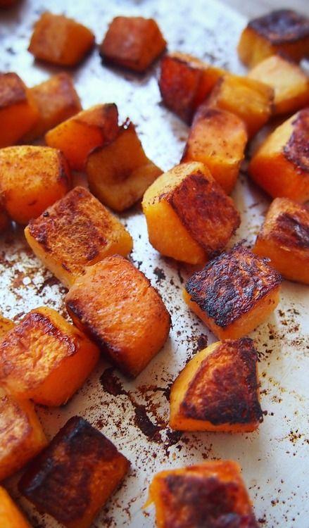 Butternut, Butternut Recipe, Butternut Cooking, Cinnamon Roasted ...