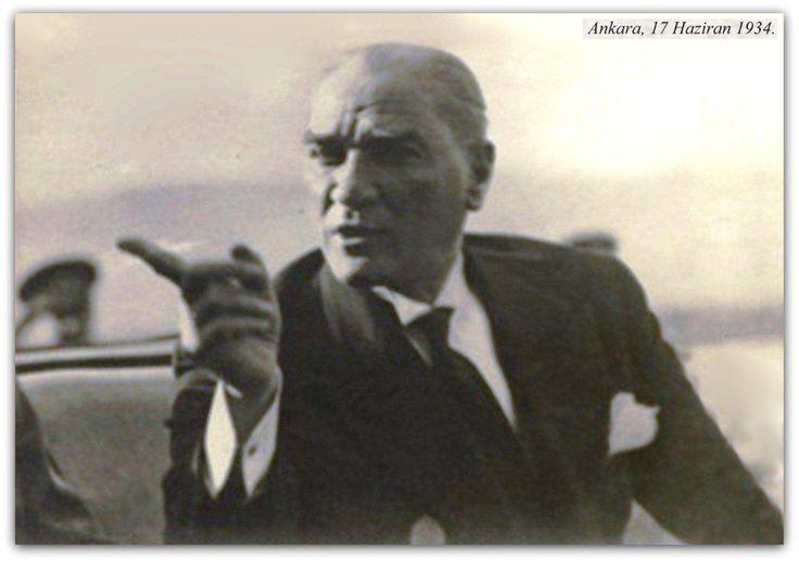 Atatürk 17.06.1934