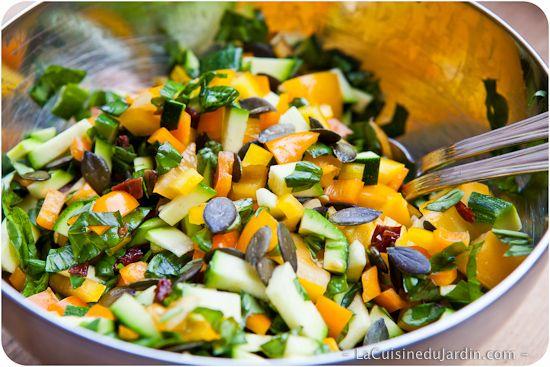 Salade composée facile pour l'été