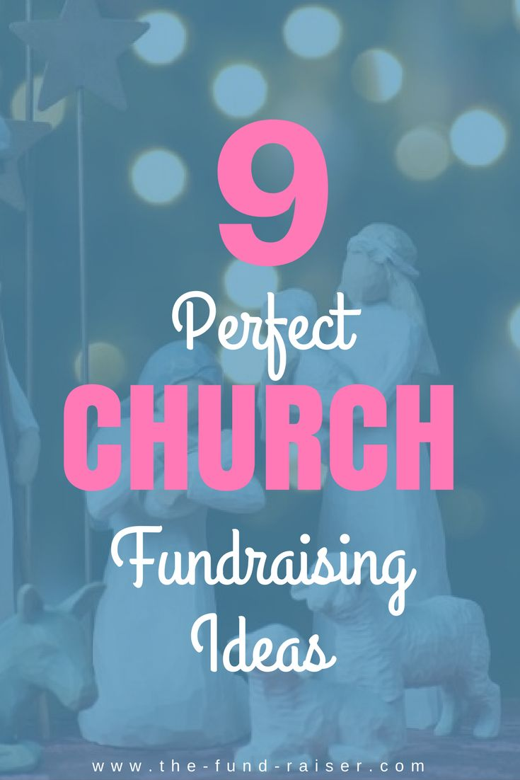 Trying to meet your church's financial needs? Here are 9 perfect fundraising ideas that will help raise the money you need in no time! http://www.the-fund-raiser.com/church-fundraising-ideas/