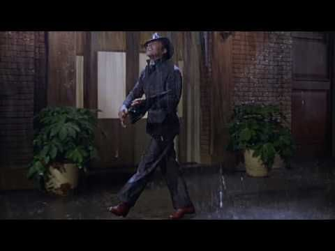 Singin' in the Rain (1952) starring Gene Kelly, Donald O'Connor & Debbie Reynolds. Mr. Kelly was sick with a 103 °F (39 °C) fever as he was taping this scene. Amazing performers!