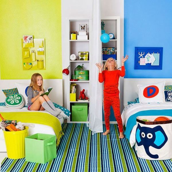 4-clever-tips-and-29-cool-ideas-to-design-a-shared-room-for-a-boy-and-a-girl-21 Kidsomania | Kidsomania