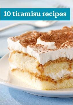 10 Tiramisu Recipes – Whip up an elegant Italian dessert in a flash with the help our quick tiramisu recipes and other gorgeous layered dessert recipes.
