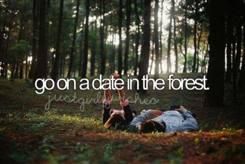 Go on a date in the forest ✔ 9 April 2016- At Otari-Wilton Reserve