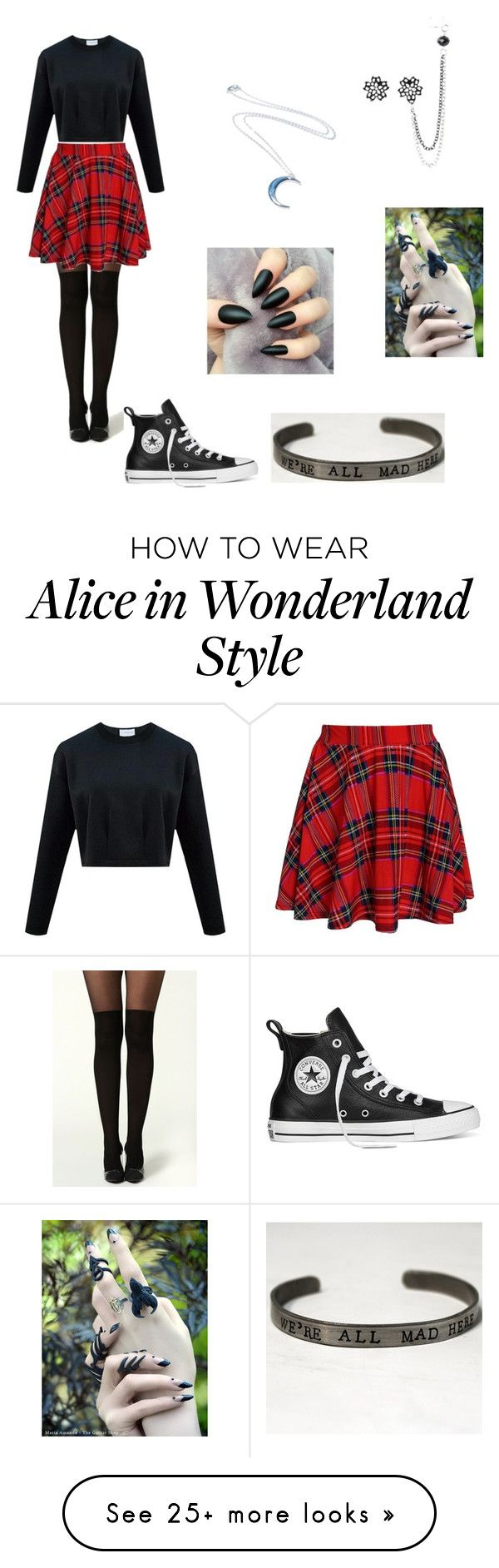 """""""Untitled #146"""" by ifunicornscouldfly on Polyvore featuring Converse"""