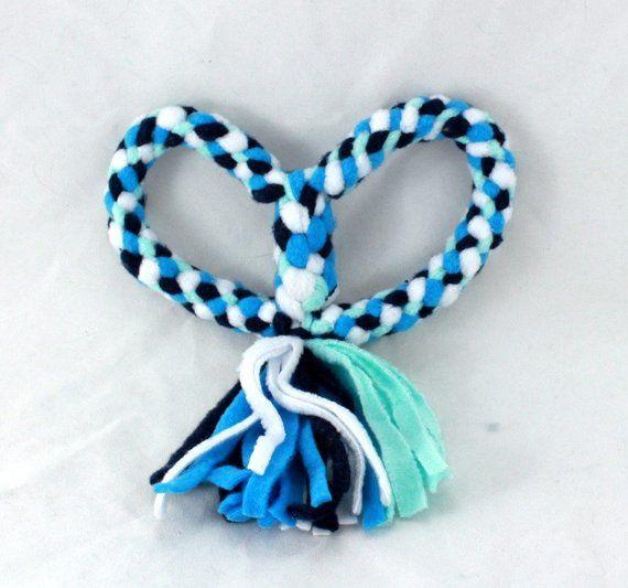 Heart Tug Toy Heart Dog Toy Fleece Dog Toy Dog Toy Dog