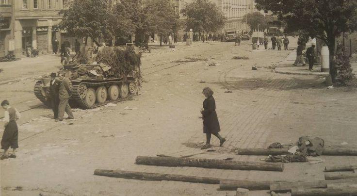 Praha- Břevnov, Malovanka. Rok 1945