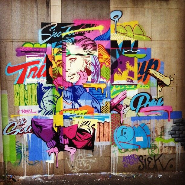 """Résultat de recherche d'images pour """"art urbain typographie"""""""