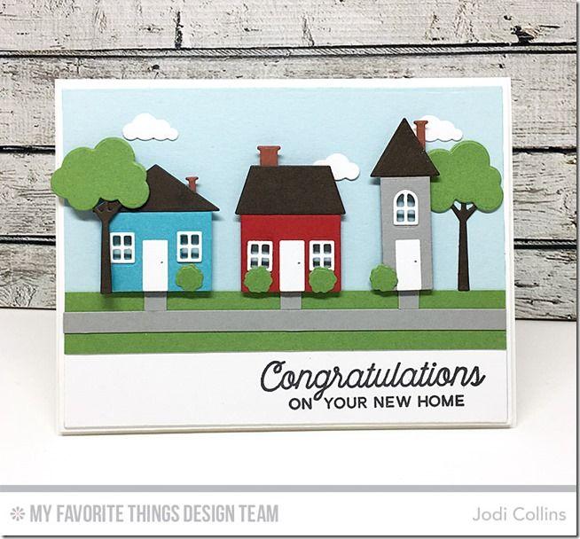 No Place Like Home Card Kit - Jodi Collins  #mftstamps