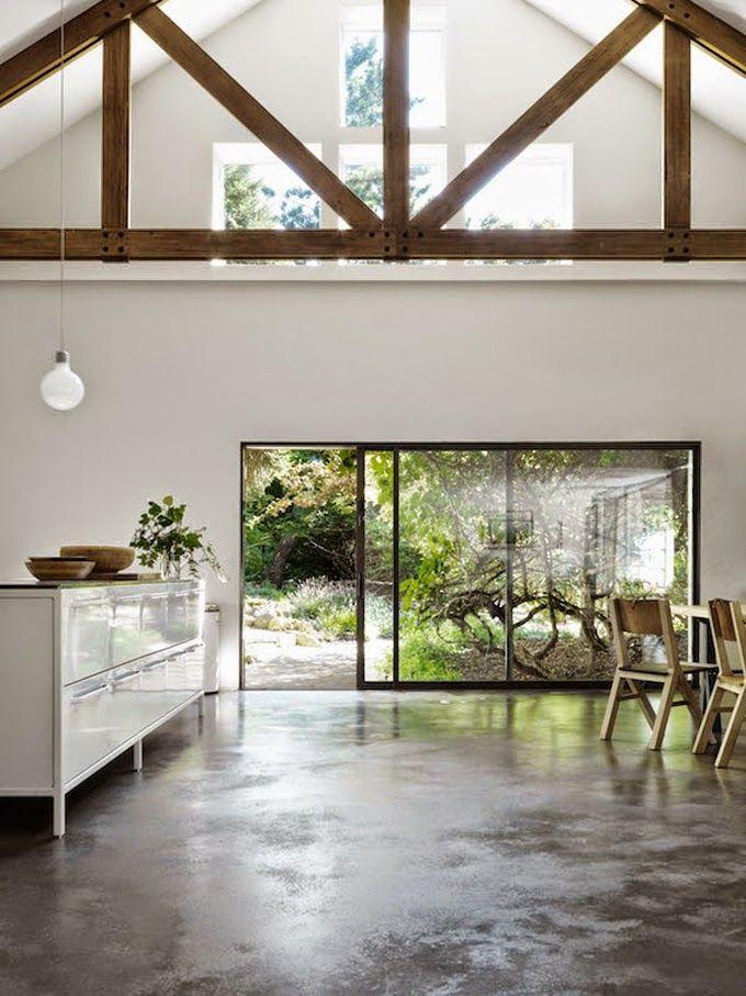 Best 25 concrete floors ideas on pinterest polished for Exposed concrete floor