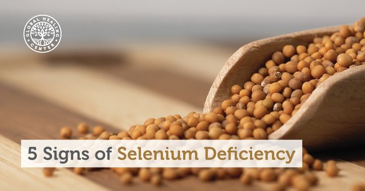 Without enough selenium in your diet, it's possible you'll experience a selenium deficiency. Here we look at 5 common indications of selenium deficiency.