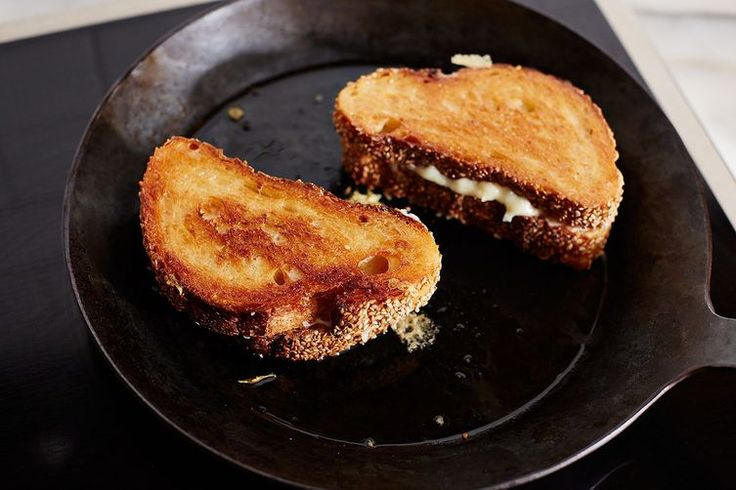 Grilled Cheese Sandwiches - The secret to crispier, faster, better grilled cheese sandwiches? Mayonnaise.