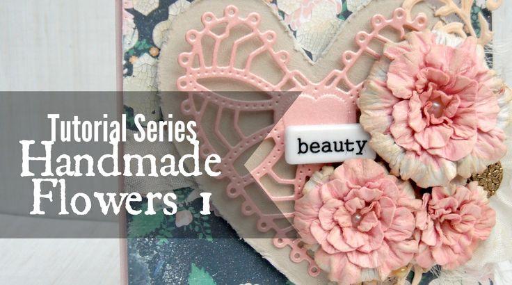 Handmade flowers video tutorials and paper flowers on for Handmade paper flowers tutorial