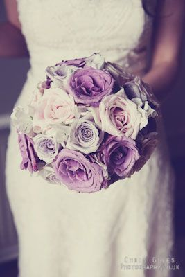 purple, lavender wedding flower bouquet, bridal bouquet, wedding flowers, add pic source on comment and we will update it. www.myfloweraffair.com can create this beautiful wedding flower look.