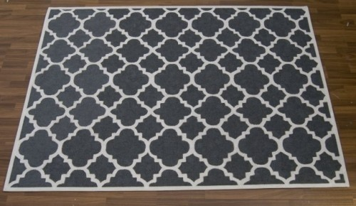 Doing this for toy room and deck areasStencils Rugs, Ideas, Dining Room, Diy Painting, Area Rugs, Painting Rugs, Carpets Reveal, Living Room, Diy Rugs