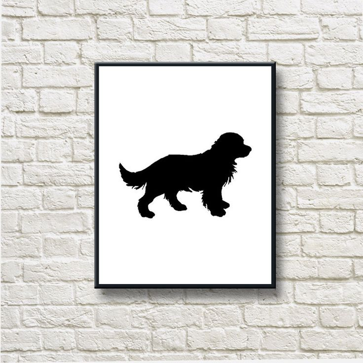 Golden Retriver Dog Silhouettes Printable Instant Download Home Decor Wall Hanging OGD013 by DNgraphics on Etsy https://www.etsy.com/se-en/listing/231786444/golden-retriver-dog-silhouettes